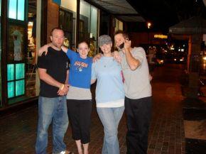 The Greenwald Kids: Me, Jillian, Alyssa, and Slick